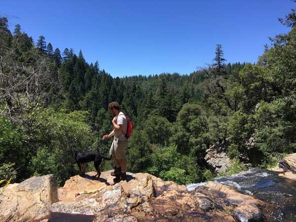 San Antonio Falls, Arnold Rim Trail